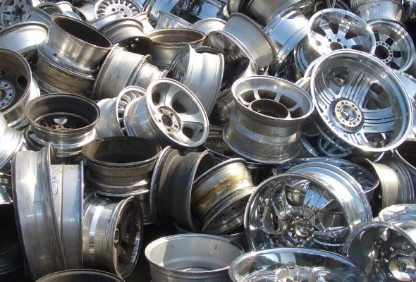 Aluminium Rims without Tyre