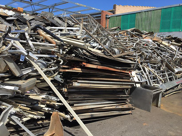 Scrap metal pickup Perth and ready for recycling